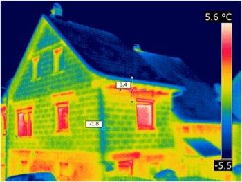 Thermografie Bild