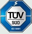 TÜV Süd E DIN ISO 50001 zertifiziert